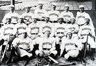 1890 Boston Reds season - The 1890 Boston Reds