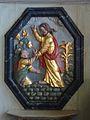 18 Sainte-Marie du Ménez-Hom Le Christ marchant sur les eaux et saint Pierre tentant de le faire.JPG