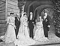 1906 Marriage of Count Pietro Pietro LucchesiPalli and Princess Beatrice of Bourbon Parma.jpg
