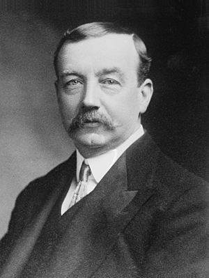Labour and Socialist International - Arthur Henderson (1863-1935) of the British Labour Party was chosen as the first chairman of the Executive Committee of the LSI in 1923.