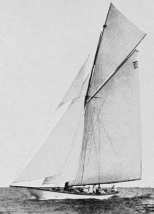 Norway at the 1912 Summer Olympics - Magda IX, Norway's gold-winning 12 m class boat
