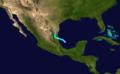 1921 Atlantic hurricane 2 track.png