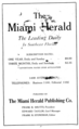 1921 Miami Herald newspaper advert Avenue D in Miami Florida.png