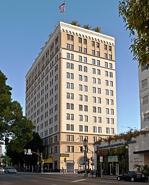 Crocker National Bank - Crocker Bank building, Los Angeles