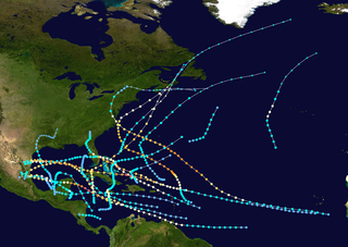 1933 Atlantic hurricane season hurricane season in the Atlantic Ocean