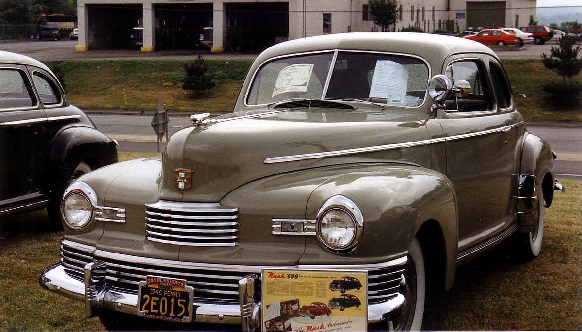 Nash 600 Wikipedia 1942 Chevy Deluxe Coupe