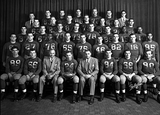 1951 Michigan Wolverines football team - Image: 1951 Michigan Football Team