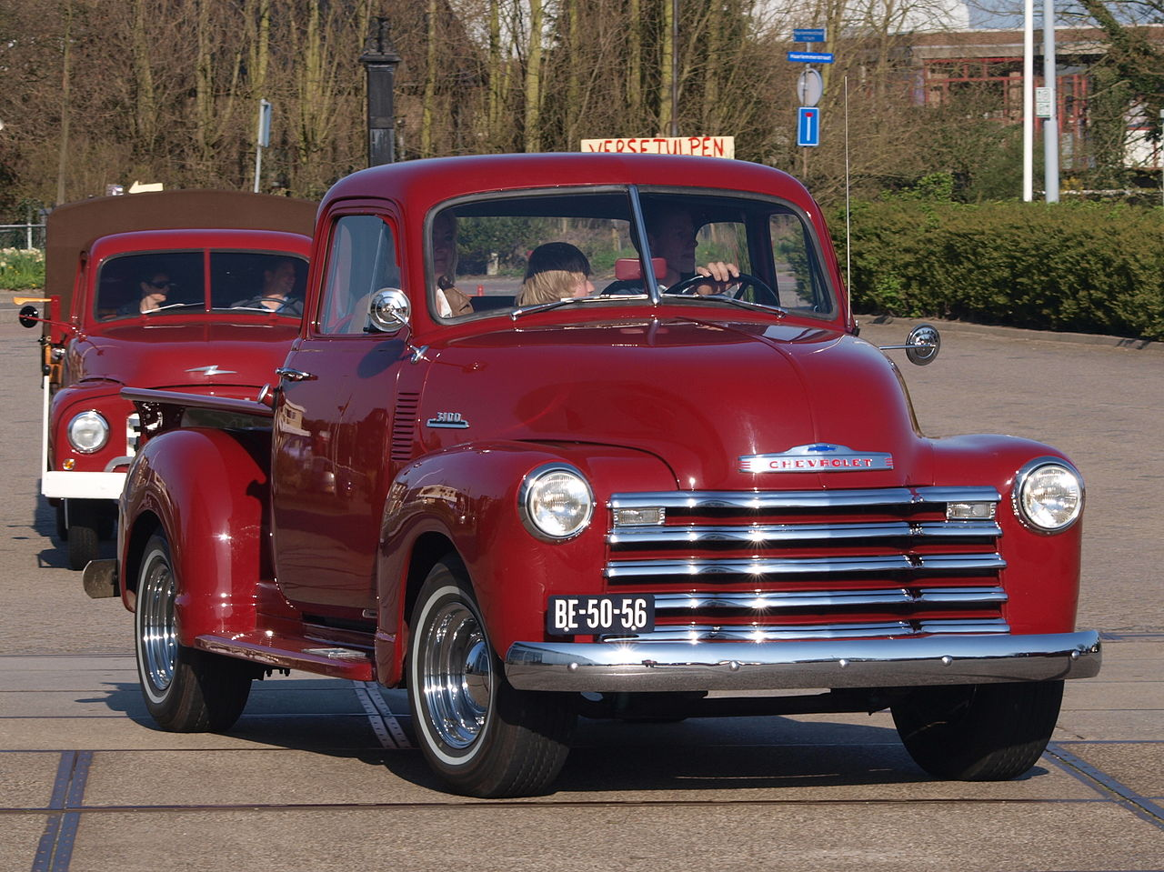 File 1953 Chevrolet 3100 Pick Up Dutch Licence
