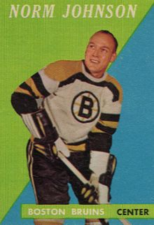 Description de l'image  1958 Topps Norm Johnson.JPG.
