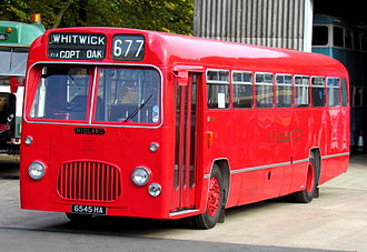Midland Red - Preserved BMMO S16
