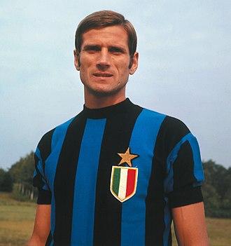 Giacinto Facchetti - Facchetti with Inter Milan in the 1966–67 season