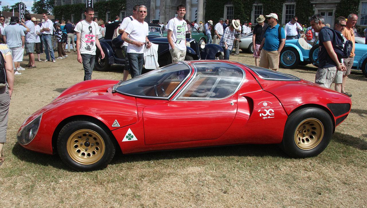 1967 alfa romeo tipo 33 stradale replica 10