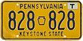 1977 Pennsylvania license plate 828-828.jpg
