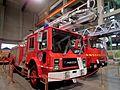 1983 Mack MCR-492 Telesqurt fire truck (12318051695).jpg