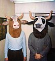 1984 Peter Kravchenko - Cow masks inside.jpg