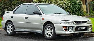 Subaru Impreza - 1999 Subaru Impreza RX sedan (Australia)
