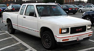 Chevrolet S-10 - 1991–1994 GMC Sonoma ST extended cab