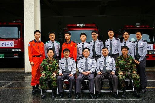 2006년 4월 19일 강릉소방서 제13기 의무소방원 전역식 IMGP1358