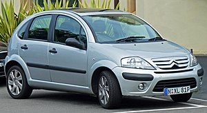Citroën C3 - Facelift Citroën C3 hatchback