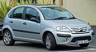 Citroën C3 - Facelift Citroën C3 hatchback