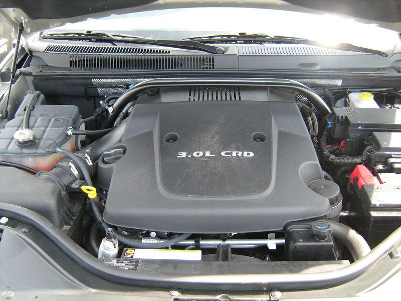 file 2008 jeep grand cherokee 3 0 diesel engine jpg wikimedia commons. Black Bedroom Furniture Sets. Home Design Ideas