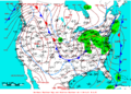 2009-02-03 Surface Weather Map NOAA.png
