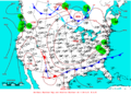 2009-05-11 Surface Weather Map NOAA.png