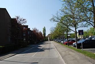 Urtenen-Schönbühl - Residential street in Urtenen-Schönbühl