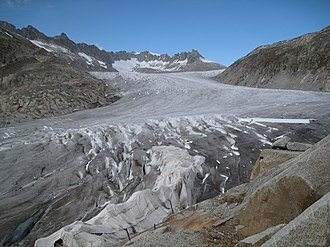 Rhône Glacier - Image: 2010 10 10 Furka 035 by bohdan urbanowicz