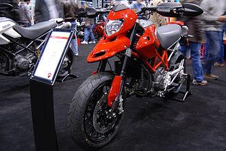 Ducati Hypermotard - Image: 2010 Ducati Hypermotard 796 at the 2009 Seattle International Motorcycle Show 2