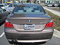 2010 brown BMW 530i rear.JPG