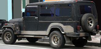SsangYong Korando - A Korando K9 with extended wheelbase.