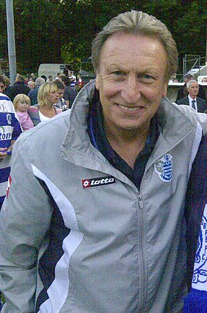 Neil Warnock - Warnock, pictured during the pre-season training of Queens Park Rangers in 2011