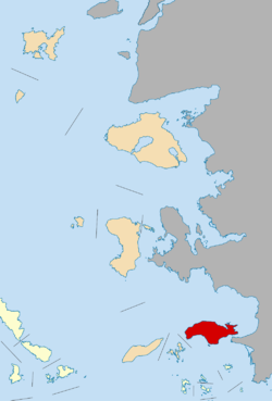 Map of Lemnos
