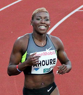 Murielle Ahouré Ivorian sprinter