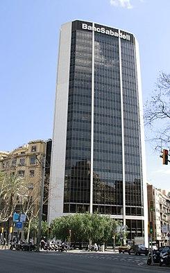 Torre banco sabadell wikipedia la enciclopedia libre for Buscador oficinas sabadell