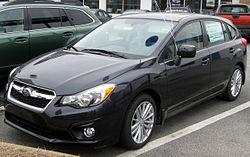 2012 Subaru Impreza 2.0i Premium hatchback (US)