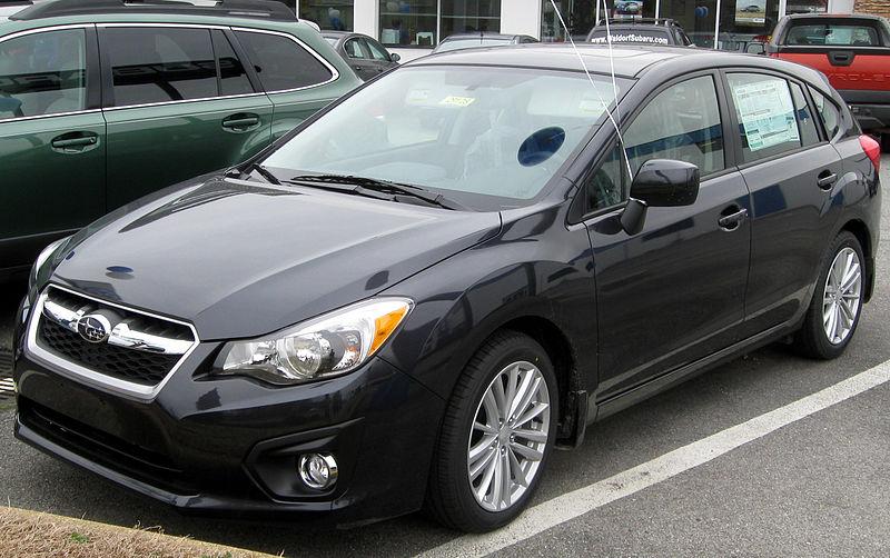 800px 2012 Subaru Impreza 2.0i Premium hatchback    02 04 2012 front - 2012 Subaru Impreza Sedan 2 0i
