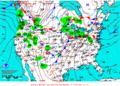 2013-01-29 Surface Weather Map NOAA.png