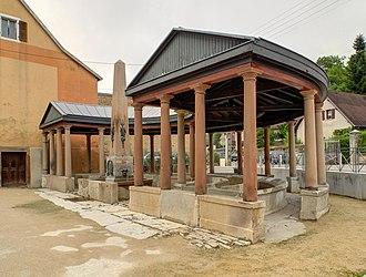 Héricourt, Haute-Saône - Image: 2013 08 28 10 22 51 Fontaine lavoir du Savourot