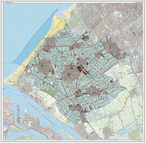 Westland (municipality), Netherlands - Dutch Topographic map of Westland, July 2013