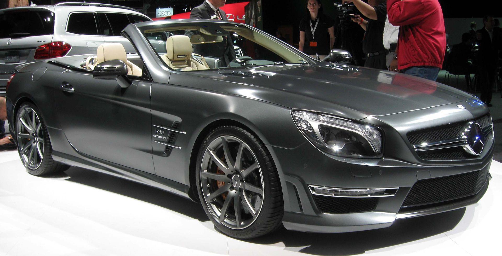 A Mercedes Benz Sl M Kg