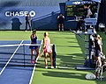 2013 US Open (Tennis) - Qualifying Round - Camila Giorgi and Julia Cohen (9777317084).jpg