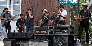 Old Crow Medicine Show Americana string band based in Nashville, Tennessee, United States