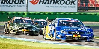 HWA Team - Paffett and Wickens for HWA in 2014