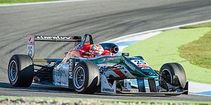Antonio Fuoco - Antonio Fuoco in F3 - Hockenheimring 2014