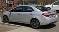 2014 Toyota Corolla S rear left.jpg