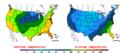 2016-04-02 Color Max-min Temperature Map NOAA.png