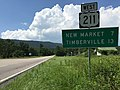 2016-07-19 15 32 26 View west along U.S. Route 211 (Lee Highway) just west of U.S. Route 340 in western Page County, Virginia.jpg