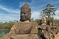 2016 Angkor, Angkor Thom, Brama południowa (12).jpg